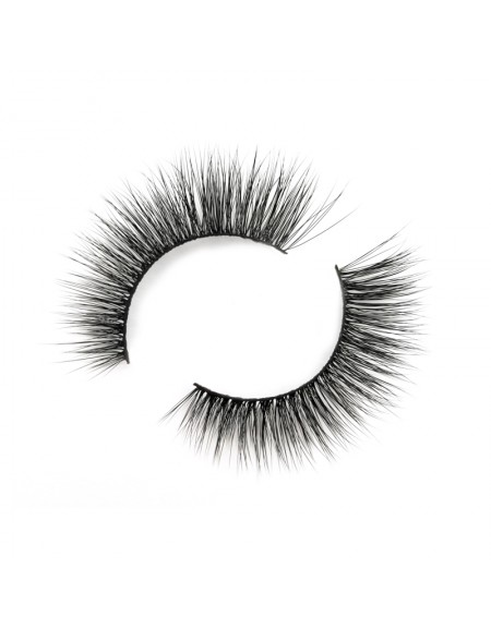 High-quality 3D Silk Strip Lashes False Eyelash Vendor SD220