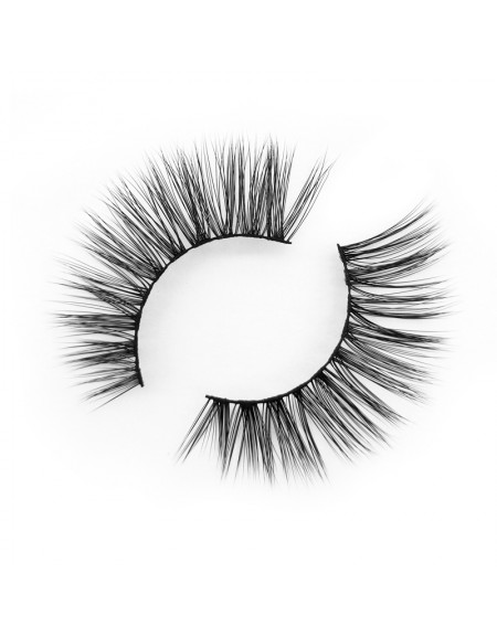 High-end  3D False Eyelashes 3D Silk Strip Lashes YY-SD235