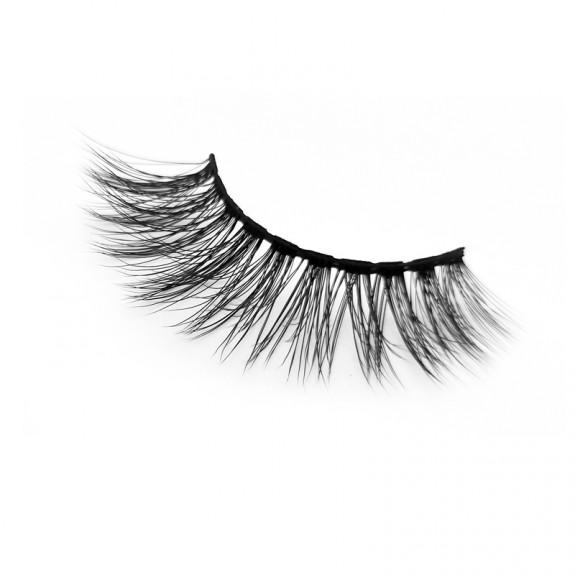 High-end  3D False Eyelashes 3D Silk Strip Lashes YY-SD235