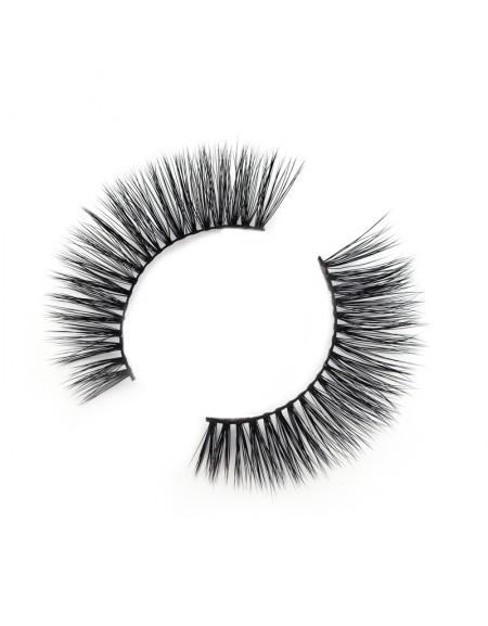 Wholesale Price 3D Silk/Synthetic Strip Eyelashes SD236