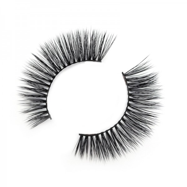 Wholesale 3D Silk/Synthetic Strip Eyelashes SD236