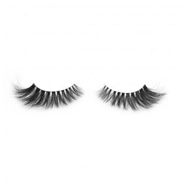 High Quality Strip Eyelashes 100% Siberian Fur Fake Eyelashes