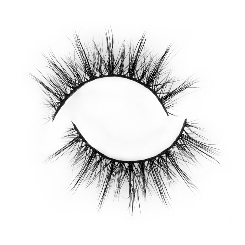 Fast Seller 3D Real Mink Eyelash Strip Lashes P141