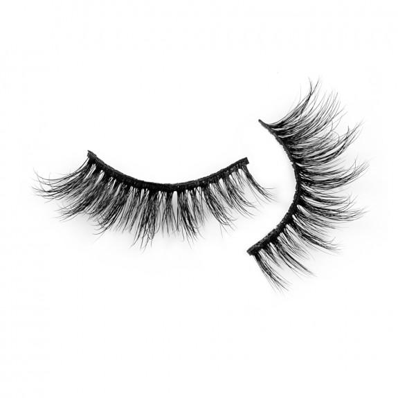 Best Seller 3D Real Mink Strip Eyelashes P142