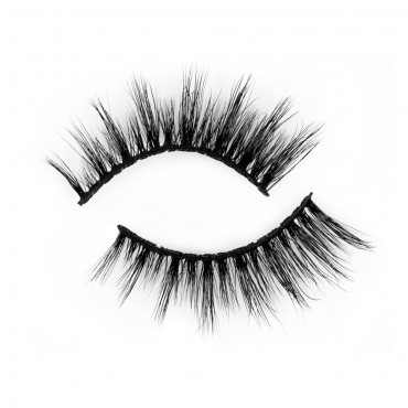 Best Seller 3D Real Mink Strip Eyelashes P142