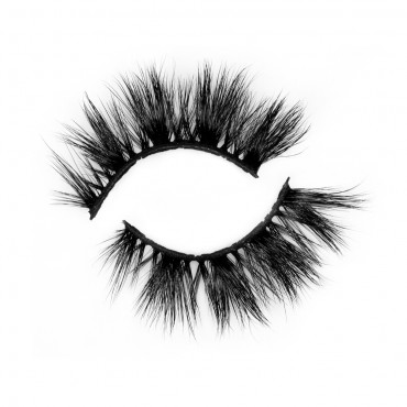 Factory Price 3D Real Mink Strip Eyelash  P144