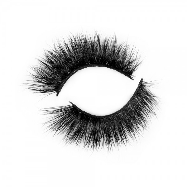 Fashionable 3D Real Mink Eyelash Strip Lashes P145