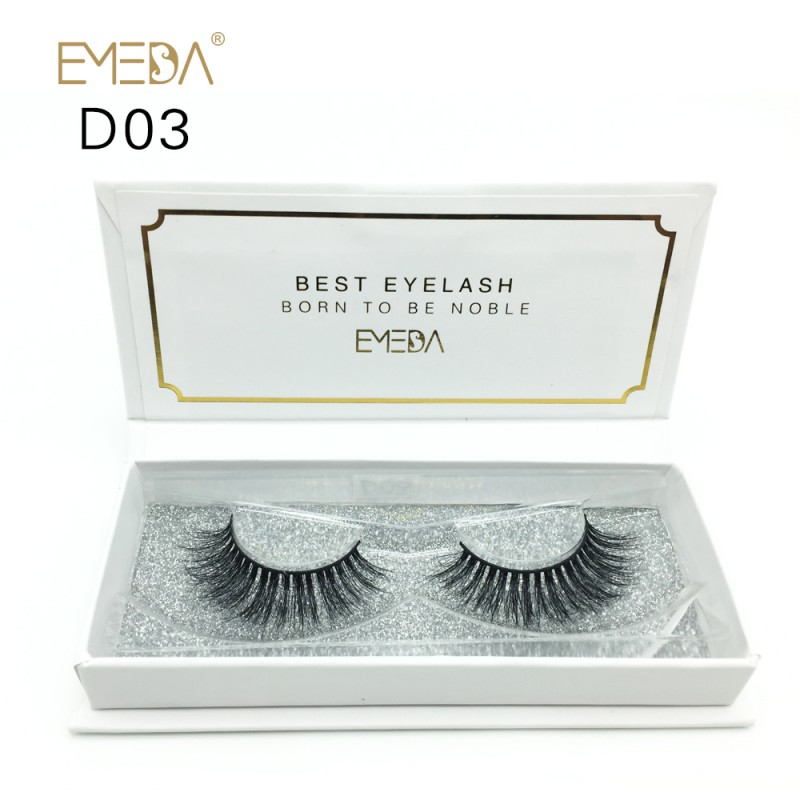 High Quality 3D Mink Lashes Diamond Grade D03