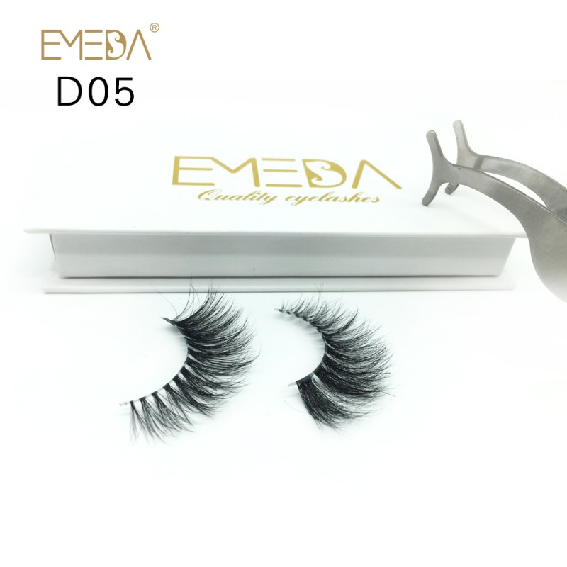 High Quality 3D Mink Lashes Diamond Grade D05