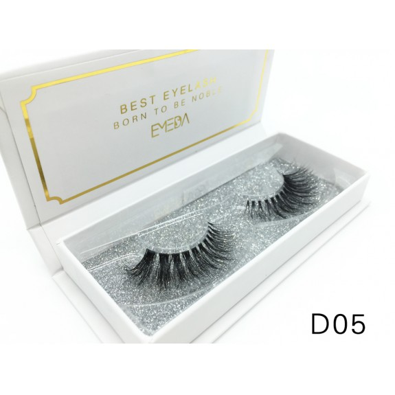 Mink 3D mink diamond grade D05 Lashes Dramatic Makeup High Quality Strip Eyelashes 100% Siberian Fur Fake Eyelashes Hand-made False Eyelashes