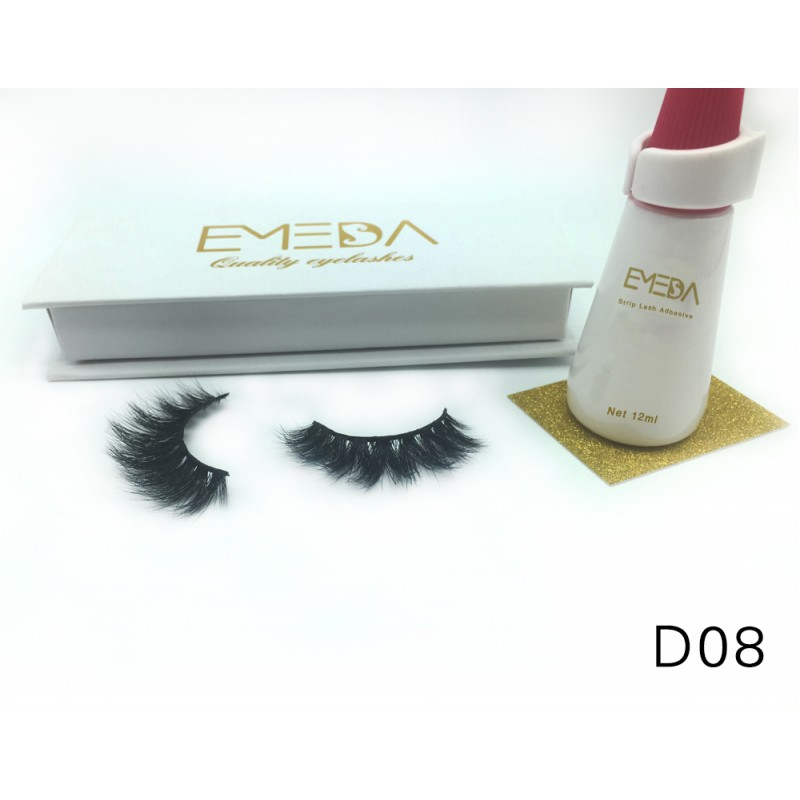 High Quality 3D Mink Lashes Diamond Grade D08