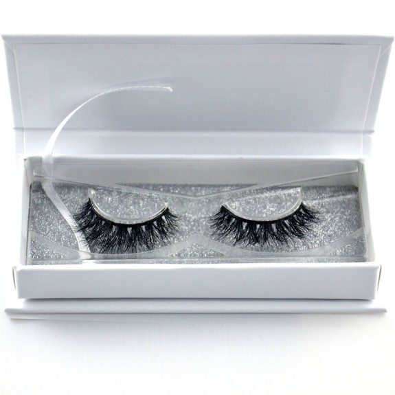 EMEDA 3D 008 Mink Magnetic False Eyelashes Long Thick Mink Magnetic Eyelashes Siberian Mink Fur Lash with Magnet