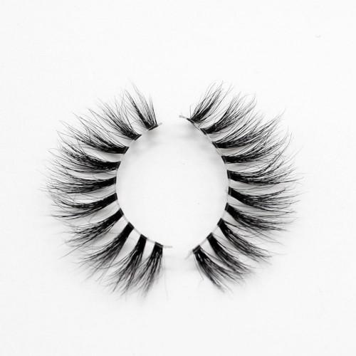 EMEDA 3D 009 Mink Magnetic False Eyelashes Long Thick Mink Magnetic Eyelashes Siberian Mink Fur Lash with Magnet