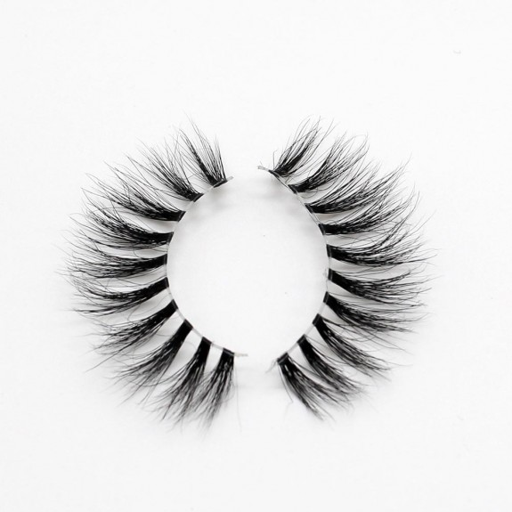 EMEDA 3D 009 Mink Magnetic False Eyelashes Long Thick Mink Magnetic Eyelashes Siberian Mink Fur Lash with Magnet