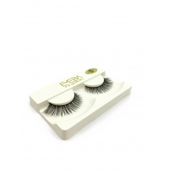 Wholesale Price Soft Silk diamond grade lashes 100% handmade 3 pairs packing 3D02