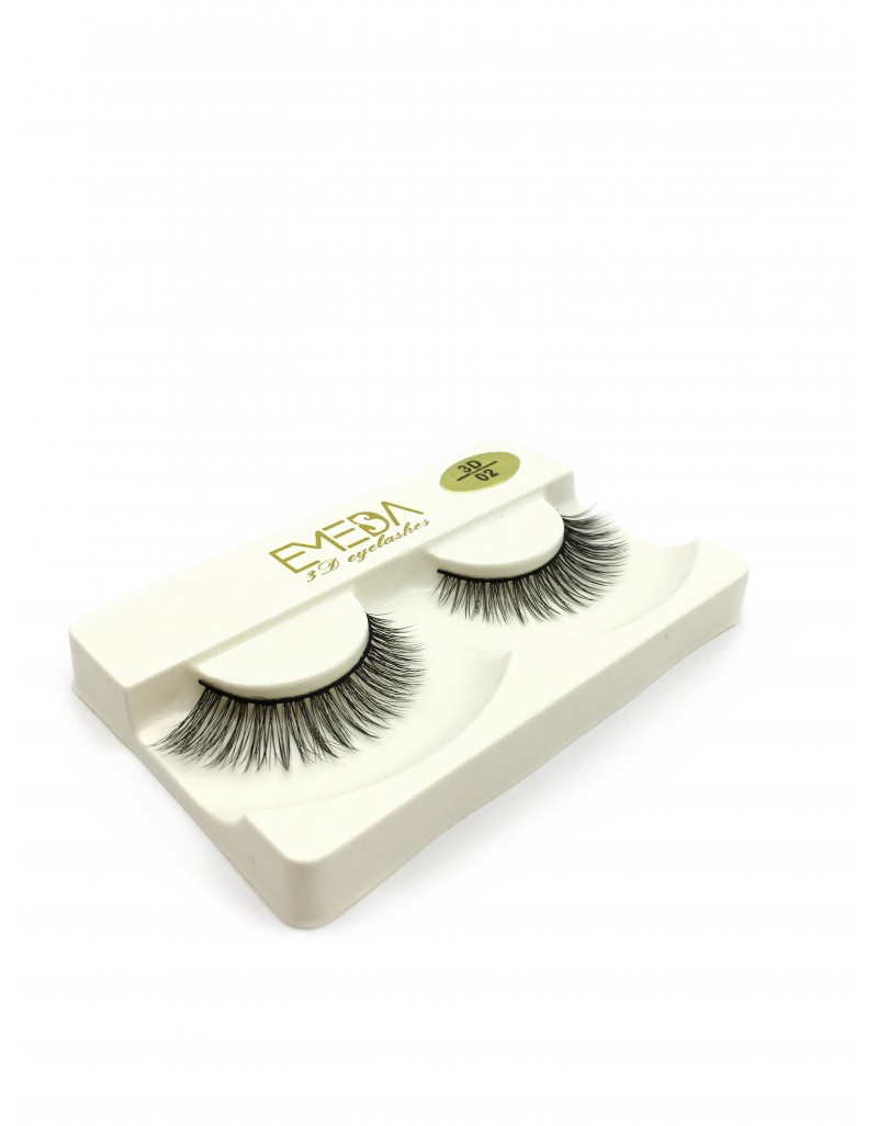 Wholesale Price Soft Silk diamond grade lashes 100% handmade 3 pairs packing 3D02