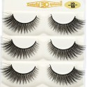 High Quality Soft Silk diamond grade lashes Manufacturers 3 pairs 3D03