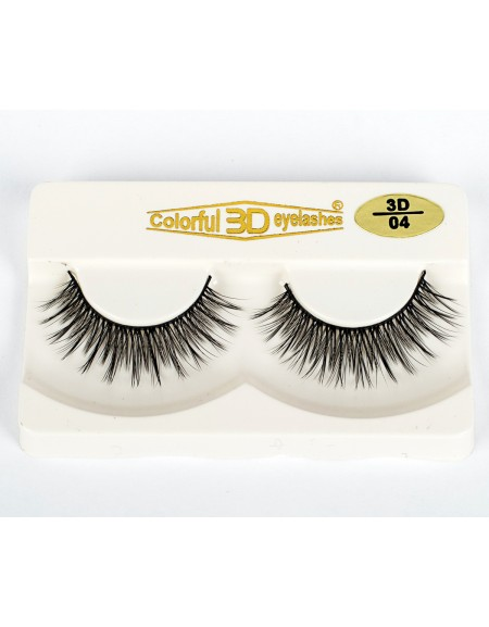 Most Popular Styl 3D Silk diamond grade lashes Manufacturers 3 pairs 3D04