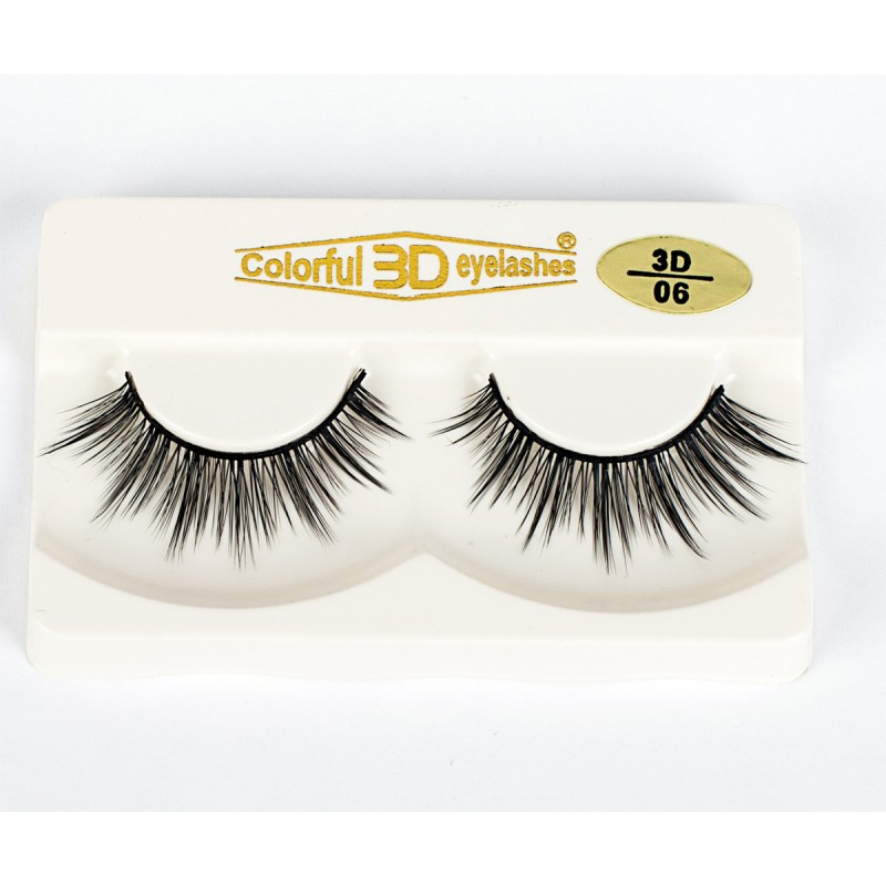 Wholesale Price 3D Silk diamond grade lashes China suppliers 3 pairs 3D06