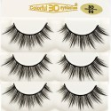Wholesale 3D Silk diamond grade lashes China suppliers 3 pairs 3D06