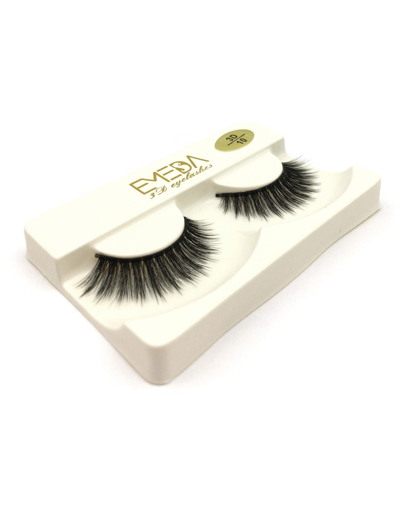 3D Silk diamond grade lashes China suppliers Wholesale Price 3 pairs 3D10