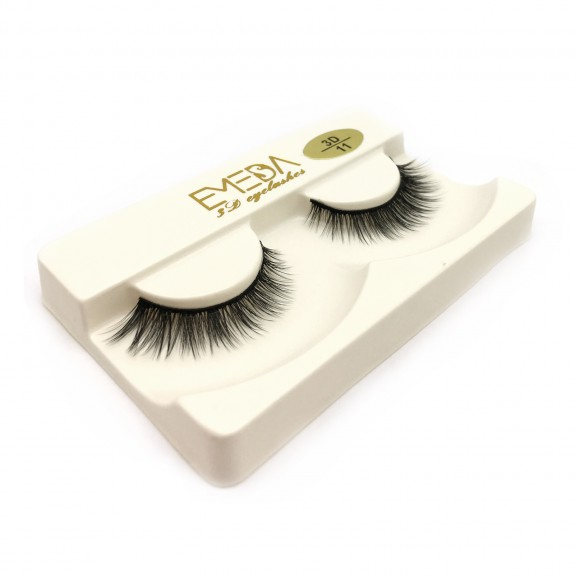 Whosale Best quality 3D Silk diamond grade lashes 3 pairs 3D11