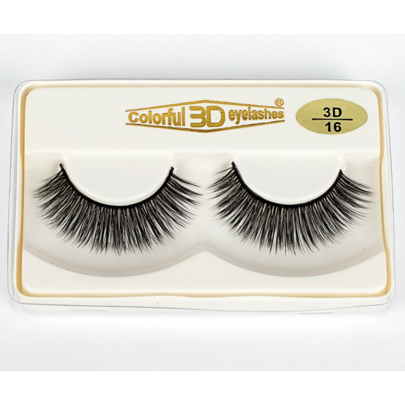 Wholesale 3D Silk diamond grade lashes Factory Price 3 pairs 3D16