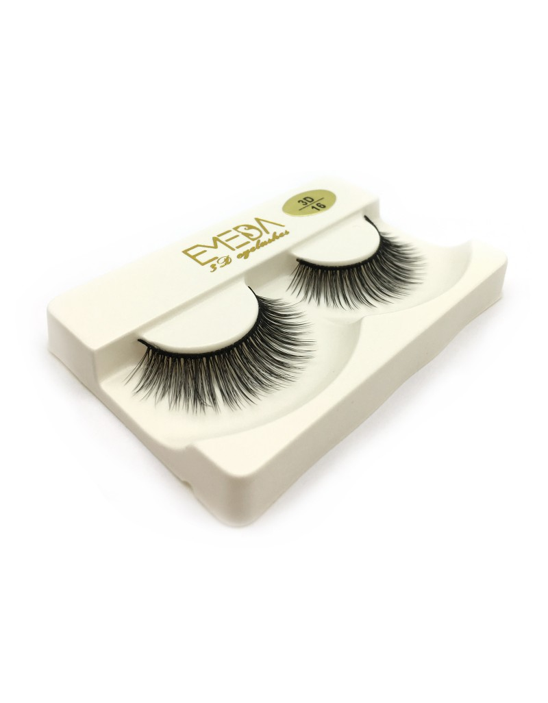 Wholesale 3D Silk diamond grade lashes Factory Price 3 pairs 3D16