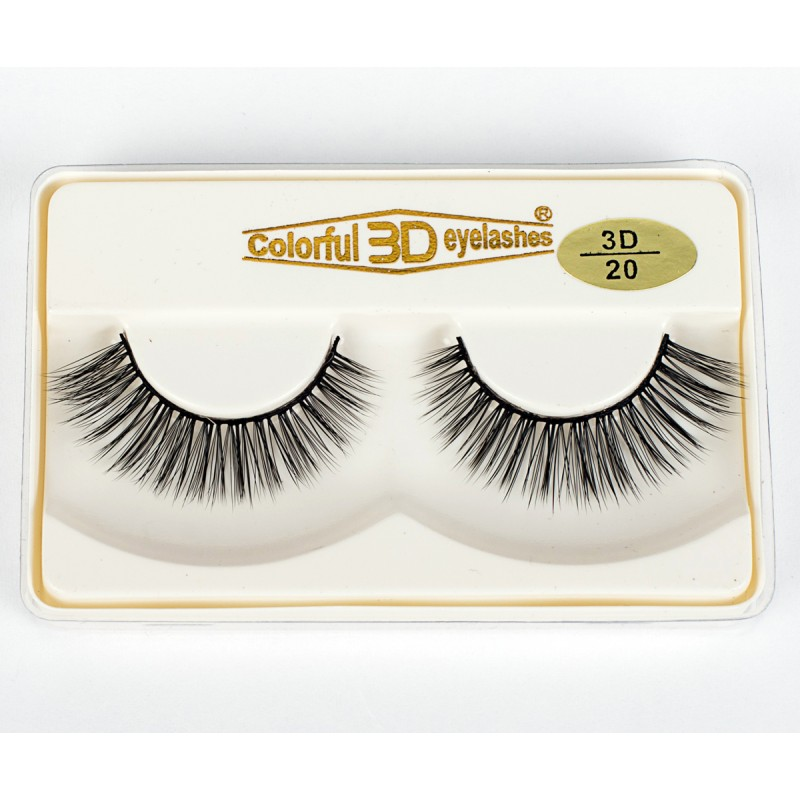 Hot Selling Factory Price High Quality 3D Silk diamond grade lashes 3 pairs 3D20