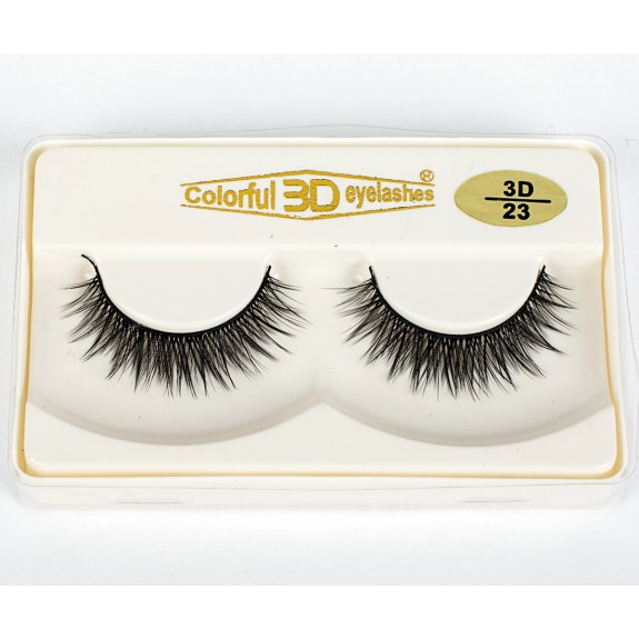 High Quality 3D Silk diamond grade lashes Manufacturers 3 pairs 3D23