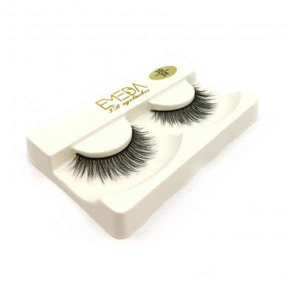 Whosale Best quality 3D Silk diamond grade lashes Manufacturers 3 pairs 3D24