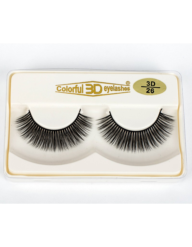 3D Silk diamond grade lashes Manufacturers Manufacturers 3 pairs 3D26