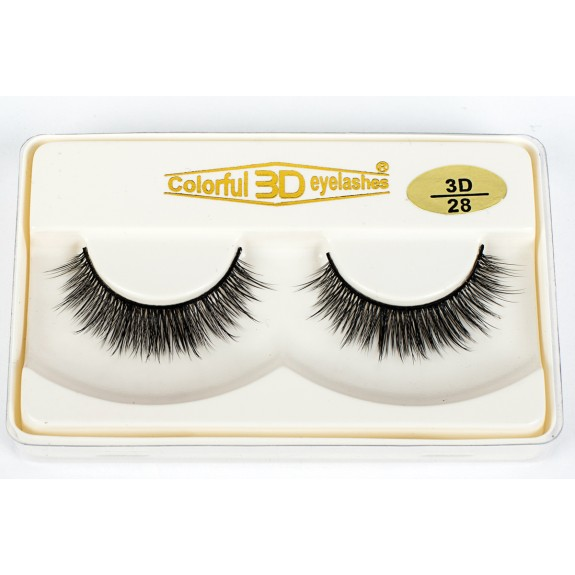 3D Silk diamond grade lashes Manufacturers Supplier Most Popular Style 3 pairs 3D28