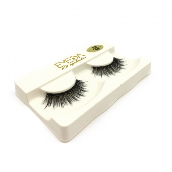 Best Selling 100% handmade 3D Silk diamond grade lashes 3 pairs 3D33