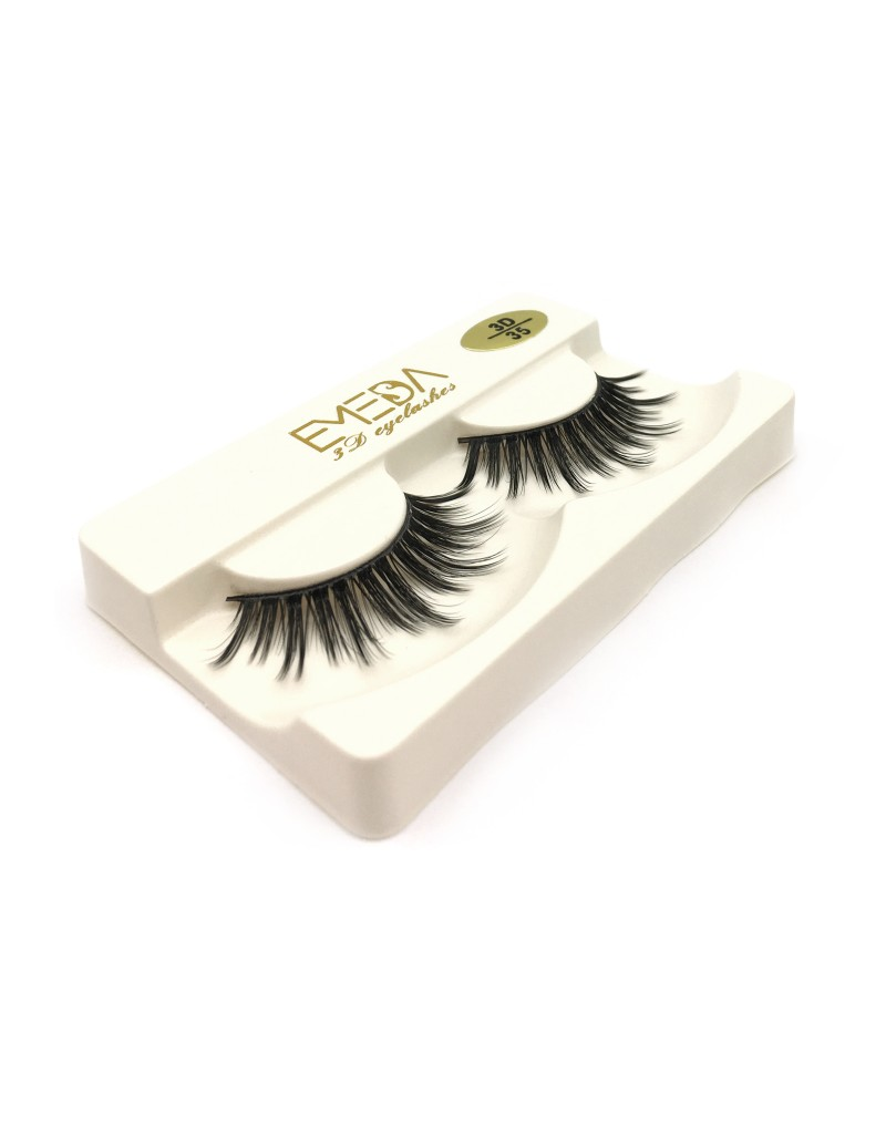 Wholesale 3D Silk diamond grade lashes Natural Looking 3 pairs 3D35