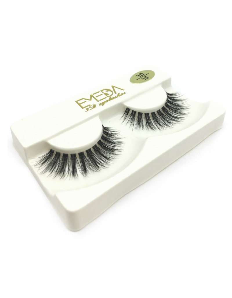 3D Silk diamond grade lashes Natural Looking Wholesale Price 3 pairs 3D36