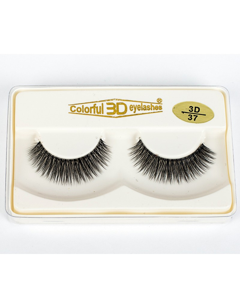 Wholesale Natural Looking Price 3D Silk diamond grade lashes 3 pairs 3D37