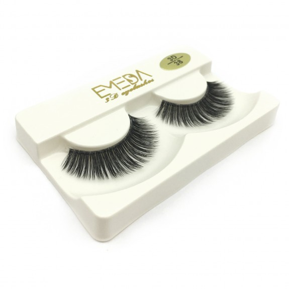 Factory Price Natural Looking 3D Silk diamond grade lashes 3 pairs 3D38