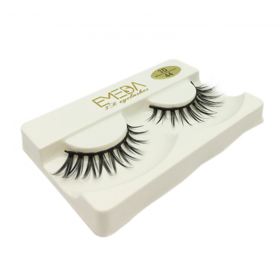 Manufacturers 3D Silk diamond grade lashes Factory Price 3 pairs 3D44