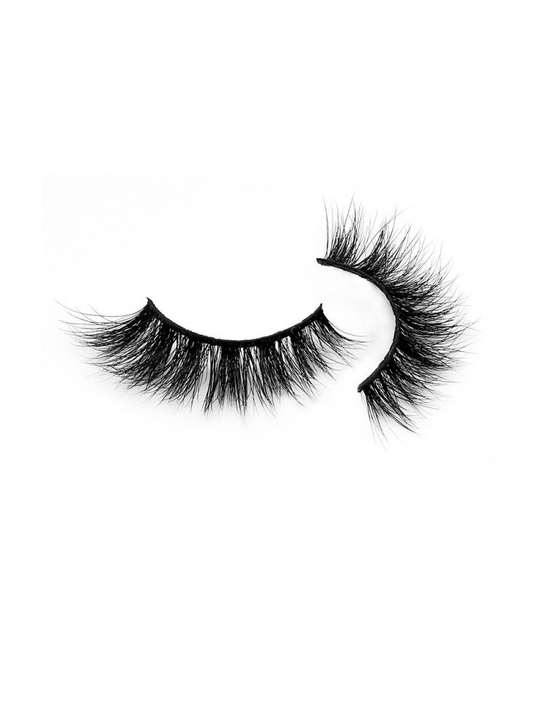 100% Handmade Real Mink Fur 3D Strip Lashes Diamond Grade D112