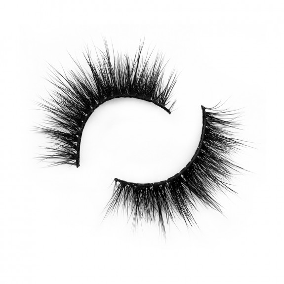 Real Mink Fur 3D Strip Lashes Diamond Grade D114