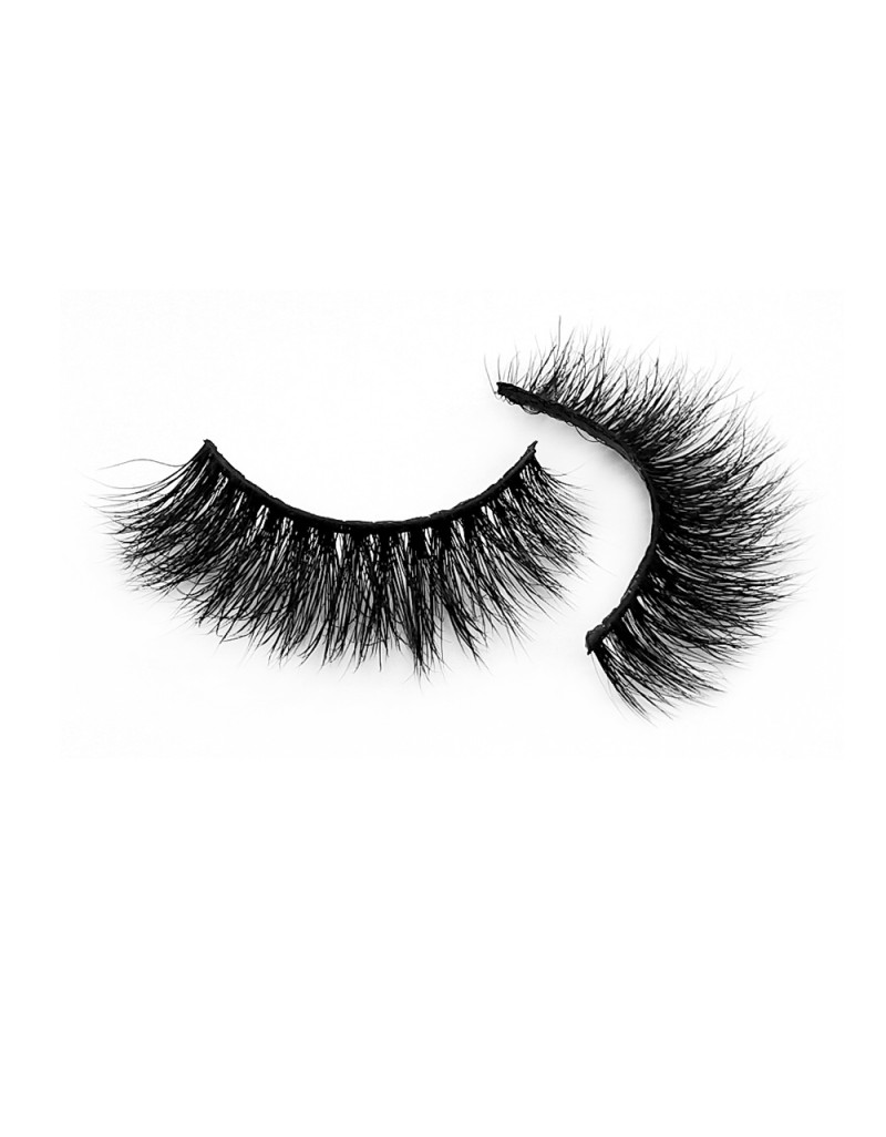 3D Real Mink Fur Strip Lashes Diamond Grade D115