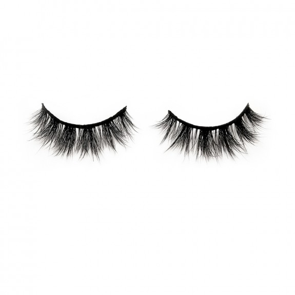 100% Real Mink Fur Strip Lashes Diamond Grade D120