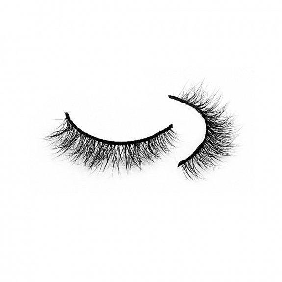 Fast Delivery 3D Mink Strip Lashes Diamond Grade D122