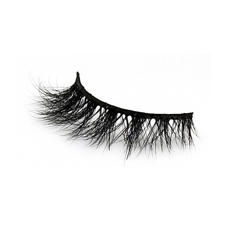 100% Handmade 3D Mink Fur Strip Lashes Diamond Grade D124