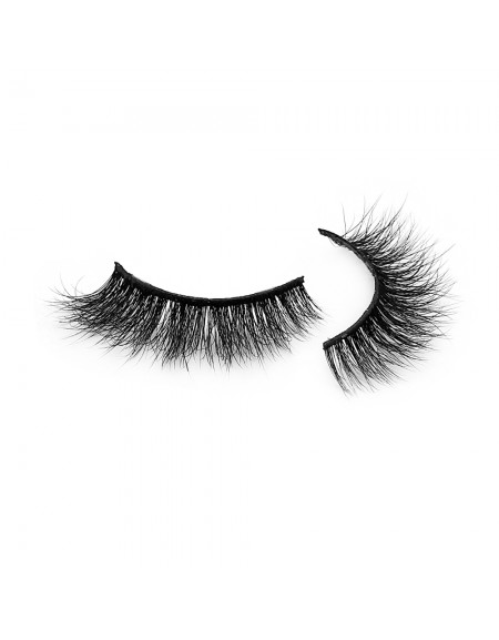 Premium 3D Mink Fur Strip Lashes Diamond Grade D126