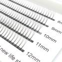200PCS 3D 0.07mm 0.01mm C D Curl  8-12mm Mix Length Premade Volume Fans Eyelash