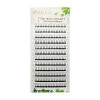 0.10mm 0.07mm Thickness C D Curl 8-14mm Mix Length and 11mm-15mm Single Length Premade Volume Fans By Obeya Beauty