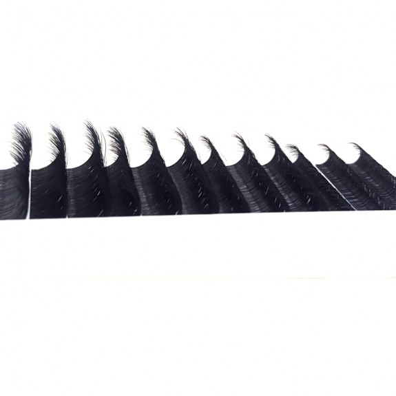 Eyelash Extensions  J Curl Lash Extensions 8-15mm Mixed Tray 12 Rows Faux Mink Individual Lashes, Eyelash Extension Supplies Semi-Permanent Eyelashes Application for Professional Salon Use wholesale vendors