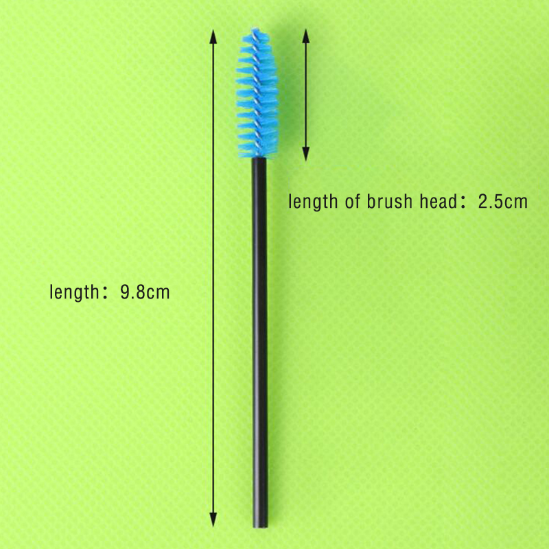 OBEYA disposable Eyelash Brushes Mascara Wands Eye Lash Eyebrow Applicator Cosmetic Makeup Brush Tool Kits